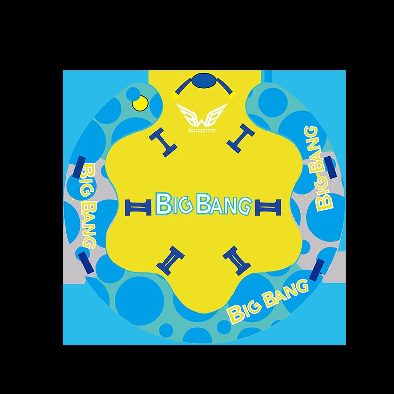 big bang towable tube for 5 riders